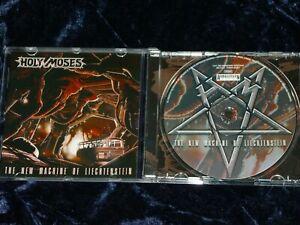 Holy Moses CD The New Machine Of Liechtenstein    2005  AMG 030-2   EX/EX
