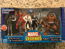 Marvel Legends - FANTASTIC FOUR 4 - Action Figure SEALED Box Set 2003 ToyBiz