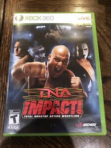 TNA Impact (Microsoft Xbox 360, 2008) Complete