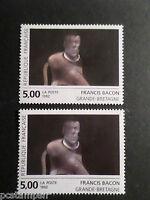 FRANCE 1992 VARIETE COULEUR, timbre TABLEAU 2779, BACON, neufs**, MNH STAMPS