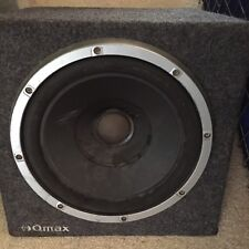 Qmax Subwoofer 12 Inch Great Condition Car Boot Sub