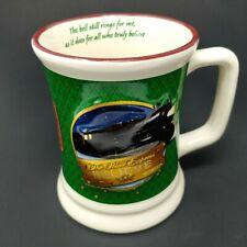 Polar Express Believe 3D Fresh Hot Chocolate Mug Green Ceramic Cup Train