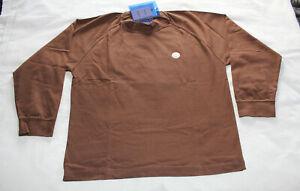 Acne Studios Carp Uni Unisex Chocolate Brown Oversize T Shirt Size XS New