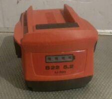 Hilti Batteria 22 Volt Li-lon 5.2 ah Originale