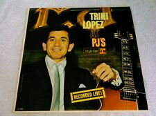 Trini Lopez At PJ's LP Reprise Mono NM America If I Had A Hammer What'd I Say