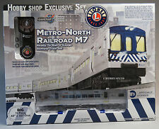 LIONEL METRO NORTH LIONCHIEF M7 RR SET subway complete O GAUGE train nyc 6-82188