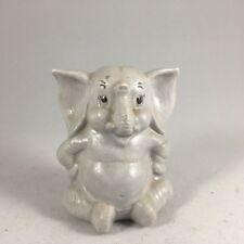 Vintage Ceramic CUTE ELEPHANT Animal Figurine