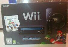 Console Mario Kart Wii Pack Complete En Boite - Excellent Etat