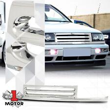For 1993-1995 VW Jetta MK3 {HORIZONTAL-BAR} Chrome ABS Front Upper Bumper Grille