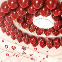Double Layer Latex Balloons Chrome Bouquet Wedding Birthday Party Decoration
