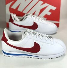Nike Cortez Basic SL White Varsity Red 904764-103 Youth Size 5.5 Forrest Gump GS