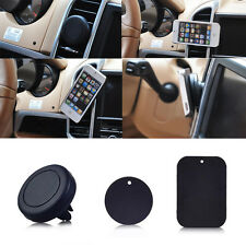 Universal Magnetic Black Auto Car SUV Air Vent Holder For Mobile Cell Phone GPS