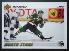 NHL 160 Mike Modano Minnesota North Stars Upper Deck 1991/92