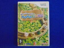 wii KORORINPA Ball Rolling Maze Game Nintendo PAL