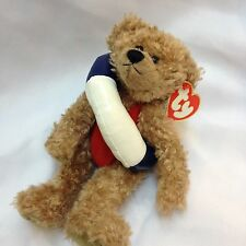 "TY Beanie Baby: ""Allura"" Bear with Swim Ring"