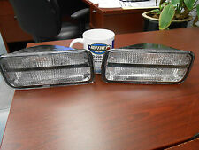 New Front Park Lamps Lights Left Right - 85-92 Camaro Z28 Iroc 5975681 & 5975682