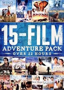 15-Film Adventure Pack (DVD, 2012, 3-Disc Set)