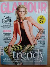 Glamour PAD 8/2013 ANJA RUBIK,Jessica Alba,Florence Welch,John Galliano