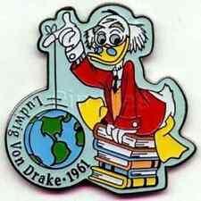 Ludwig Von Drake Countdown To Millennium #39 Disney Duck Pin New Nip