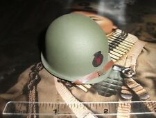 Soldier Story 1/6 Scale US Army 442nd Infantry Henry Kano M1 Helmet SS-059
