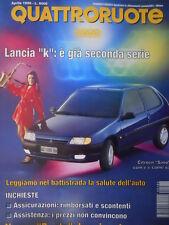 Quattroruote 486 1996  - Lancia K - Nuova Punto le primi immagini   [Q34]