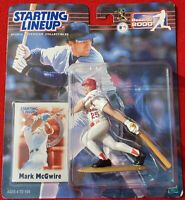 Mark McGwire St Louis Cardinals - 2000 Starting Lineup Unopened Figure