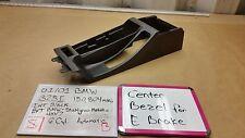 2001 02 03 04 05 BMW 325I E46 Center Console, Emergency-Brake Bezel, OEM