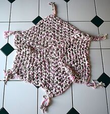 Crocheted Baby Blanket Hexagon Shape