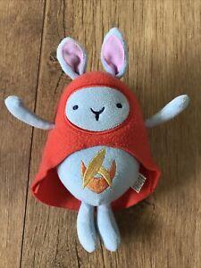 Fisher Price / Mattel - Hoppity Voosh - Soft Blue Bing Bunny Friend -  RARE.