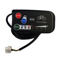 Electric Bicycle Display 24V 36V 48V Ebike Intelligent Control Panel Lcd D G4S9