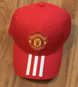 adidas Men's Manchester United Adjustable Hat Cap FS0150 NWT