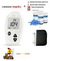 Sinocare Glucometro  glucosa en sangre Diabetes Medidor de azúcar Tiras Lancetas