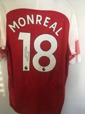 13ba8897af8 SIGNED ARSENAL FOOTBALL SHIRT(Nacho Monreal) 18 19 Season  Pristine   Unworn
