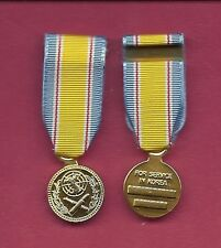 ROK Korea Service Anodized mini miniature medal ROK