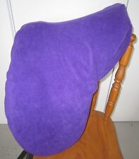 Horse Stock / Western / Swinging Fender Saddle cover FREE EMBROIDERY Purple
