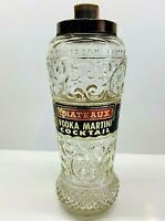 Rare Vintage Clear Spring Distilling Co. Chateaux Vodka Martini Cocktail Bottle