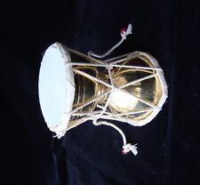 PROFESSIONAL HANDMADE Brass USA  RELIGIOUS SHIVA FOLK MUSICAL DAMROO DAMRU India