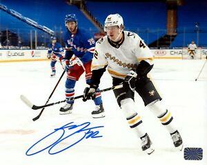 Kasperi Kapanen Pittsburgh Penguins Signed Autographed Retro Jersey Action 16x20