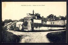 cpa Ecrite en 1935 CHÂTRES (Seine et Marne) CHÂTEAU du GRAND MESNIL Colombier