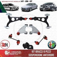 KIT BRACCI SOSPENSIONE ANTERIORI ALFA ROMEO 147 - 156 - GT (8PZ. ORIGINAL BIRTH)
