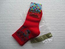 Nuevo 2 pares de calcetines de diseñador Pocholo en rojo y azul marino EUR tamaño 22/24 Oso De Peluche
