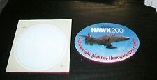 BRITISH AEROSPACE HAWK STICKERS UNUSED (2)