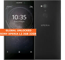 "SONY XPERIA L2 H3321 3gb 32gb Quad Core 13mp Fingerprint 5.5"" Lte Smartphone"