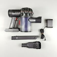 Dyson DC58 V6 Cordless Handheld Vacuum Body w/ Attachments Complete Cleaned GUC
