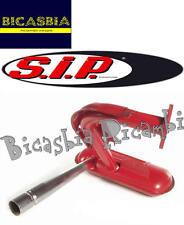 8068 - MARMITTA PRO SPORT SIP ROSSA VESPA 50 SPECIAL R L N IN ACCIAIO