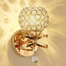 Modern K9 Kristall Golden Wandleuchten Wandlampe für Flur Treppe �œbernachtung