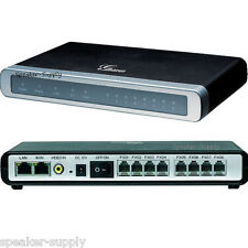 Grandstream 8 Port FXO Gateway VoIP Media Analog Phone System 8 Line GXW4108