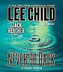 Jack Reacher: Never Go Back by Lee Child (2013, CD, Unabridged)