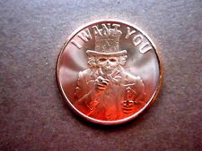I WANT YOU 1 oz. Copper Round  -- 2015
