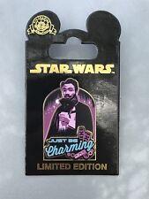 Disney Star Wars Pin Solo A Star Wars Story Just Be Charming Lando Calrissian LE